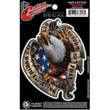 Наклейка для гитары Planet Waves GT77016 Guitar Tatoo, Freedom Eagle