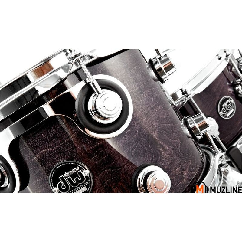 Ударная установка DW Performance Series 5-Piece Shell Maple Snare (Ebony Stain)