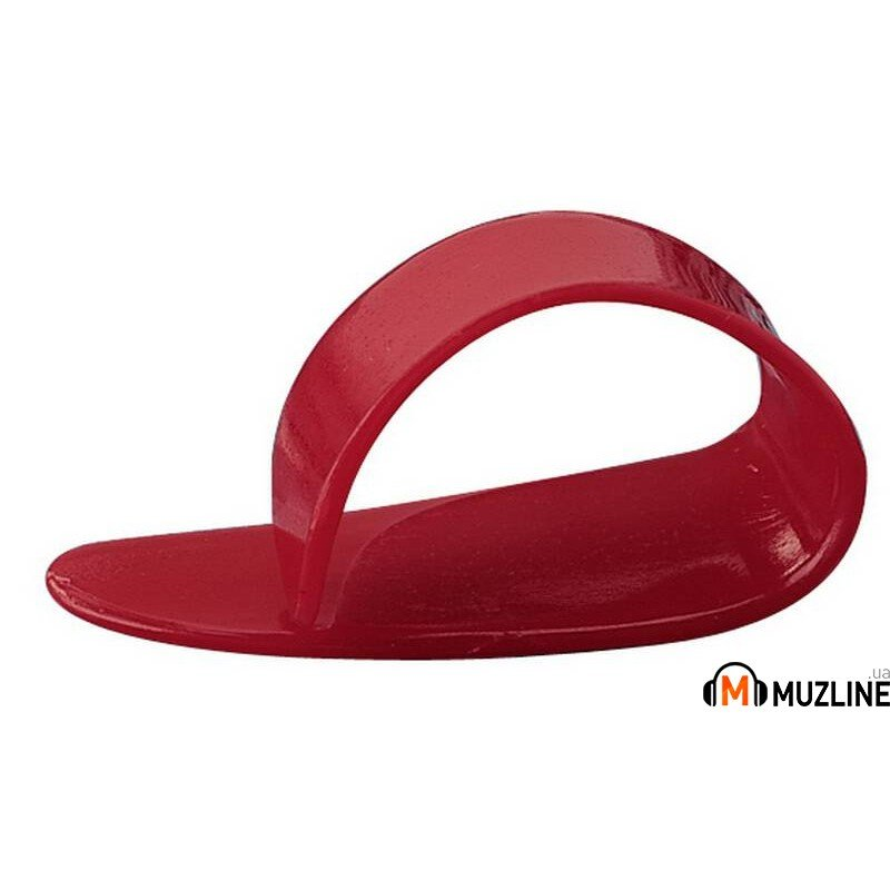 Dunlop 9051R Red Delrin Thumbpick Medium 12 шт