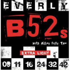 Струны для электрогитары Everly 9209 B52S Electric Extra Light 09-42