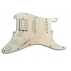 Звукосниматель Paxphil #9622 Pickguard Panel H-S-S White