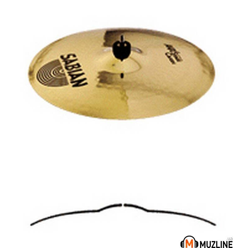 "Crash Sabian 18"" AAX Stage Crash"