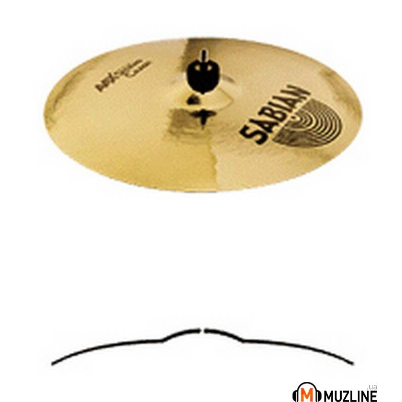 "Crash Sabian 16"" AAX Studio Crash"