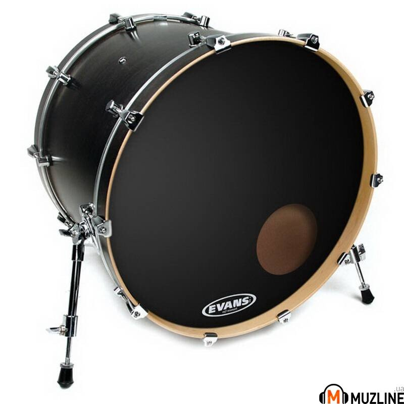 "Evans BD20RB 20"" EQ3 Resonant Black"