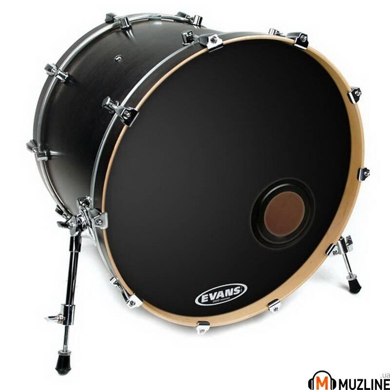 "Evans BD20REMAD 20"" Emad Resonant Black"