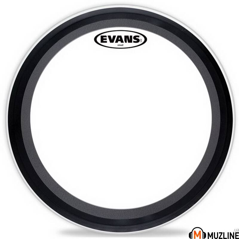 "Evans BD18EMAD 18"" Emad Clear"