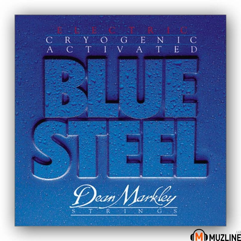 Струны для электрогитары Dean Markley 2552A Bluesteel Electric Lt7 09-54