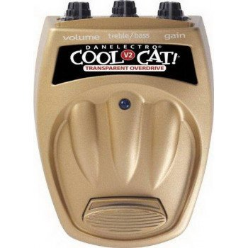 Гитарная педаль Danelectro Cool Cat Transparent Overdrive V2