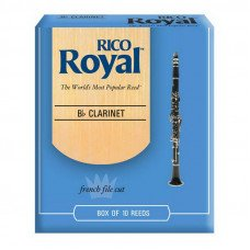 Трость Rico Rico Royal - Bb Clarinet #2.5 - 10 box