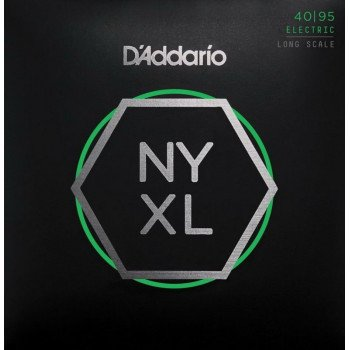 Струны для бас-гитары D'Addario NYXL4095 Super Light 40-95