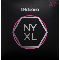 Струны для бас-гитары D'Addario NYXL45100 Regular Light 45-100