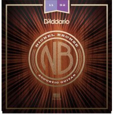 D'Addario NB1152 Nickel Bronze Custom Light 11-52