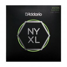 Струны для бас-гитары D'Addario NYXL45105 Light Top / Med Bottom 45-105