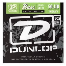Струны для бас-гитары Dunlop DBS50110 Stainless Steel Heavy 50-110