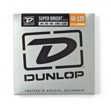 Струны для бас-гитары Dunlop DBSBN40120 Super Bright Nickel 40-120