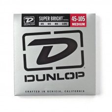 Струны для бас-гитары Dunlop DBSBN45105 Super Bright Nickel 45-105