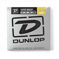 Струны для бас-гитары Dunlop DBSBS40100 Super Bright Steel 40-100