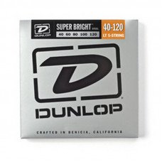 Струны для бас-гитары Dunlop DBSBS40120 Super Bright Steel 40-120