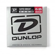 Струны для бас-гитары Dunlop DBSBS45105 Super Bright Steel 45-105