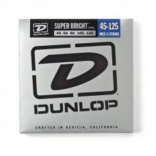 Струны для бас-гитары Dunlop DBSBS45125 Super Bright Steel 45-125