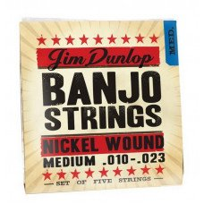 Dunlop DJN1023 Banjo Nickel Medium