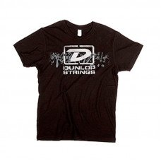 "Футболка мужская Dunlop DSD28-MTS-M Men T-Shirt ""Dunlop Strings"" Medium"