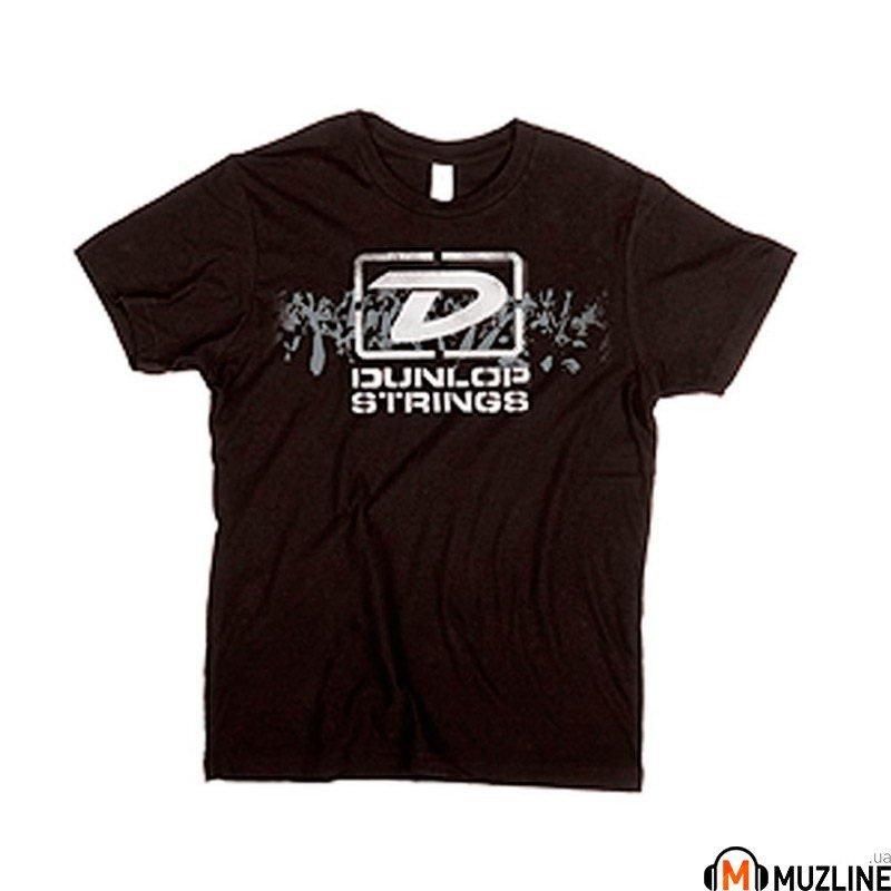 "Футболка мужская Dunlop DSD28-MTS-XL Men T-Shirt ""Dunlop Strings"" Extra Large"