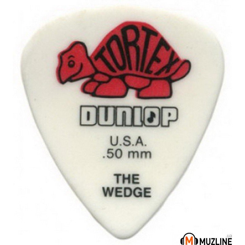 Dunlop 424R.50 Tortex Wedge 0.50