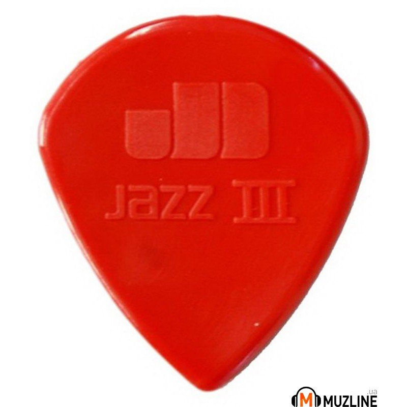 Dunlop 47R3N Nylon Jazz III Red