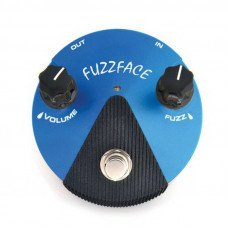 Гитарная педаль Dunlop FFM1 Fuzz Face Mini Silicon