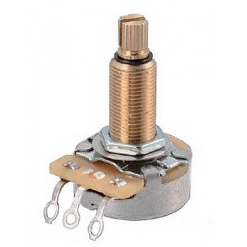 DiMarzio EP1201L Custom Taper Potentiometer 500K Long Shaft