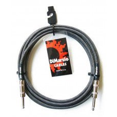 Инструментальный кабель Jack - Jack DiMarzio EP1718SS Instrument Cable 18Ft Black Gray