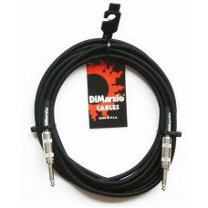 Инструментальный кабель Jack - Jack DiMarzio EP1715SS Instrument Cable 15Ft Black