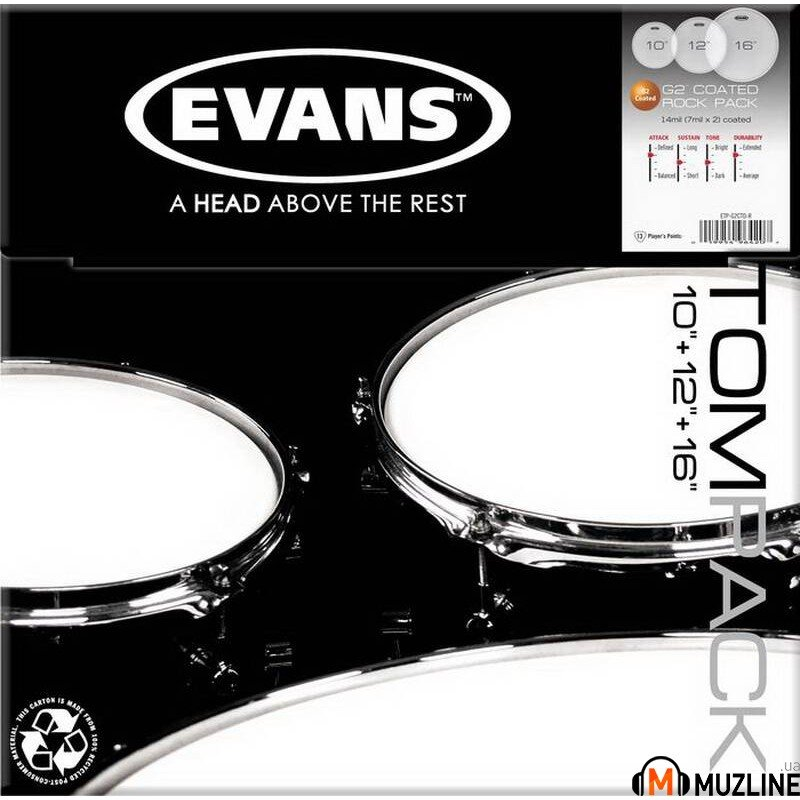 Evans ETPG2CTD-R G2 Coated Rock