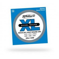 Струны для электрогитары D'Addario EXL110W Regular Light Wound 3RD 10-46