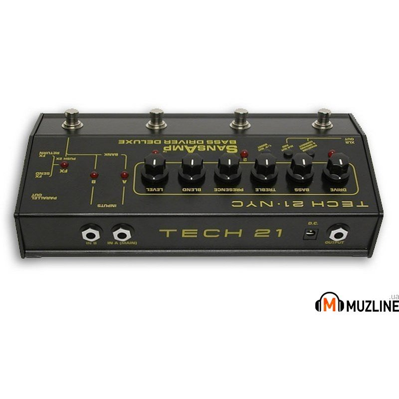 Гитарная педаль Tech 21 SansAmp Bass Driver Deluxe