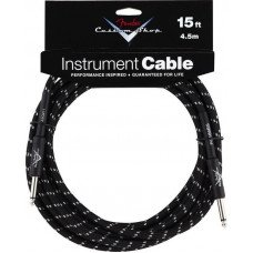 Инструментальный кабель Jack - Jack Fender Custom Shop Cable 15 Black Tweed