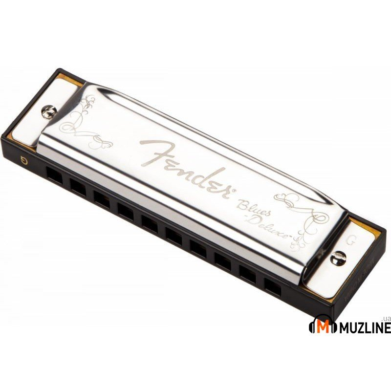Губная гармошка Fender Harmonica Blues Deluxe G