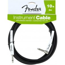 Инструментальный кабель Jack - Jack Fender Performance Instrument Cable 10 Angled BK