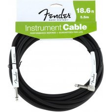 Инструментальный кабель Jack - Jack Fender Performance Instrument Cable 18,6 BK Angled