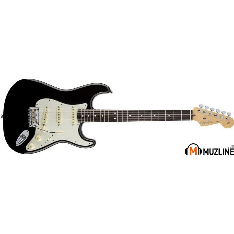 Электрогитара Fender Standard Stratocaster Rosewood Fingerboard Black