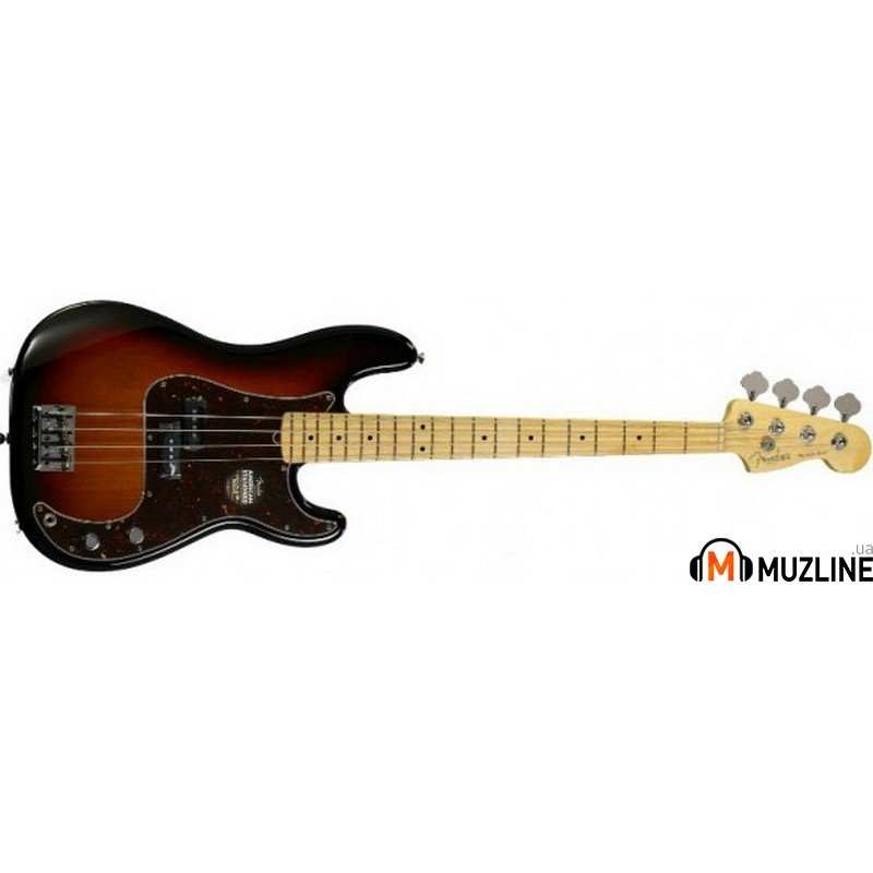 Бас-гитара Fender American Standard Precision Bass 2012 Maple Fingerboard 3SB