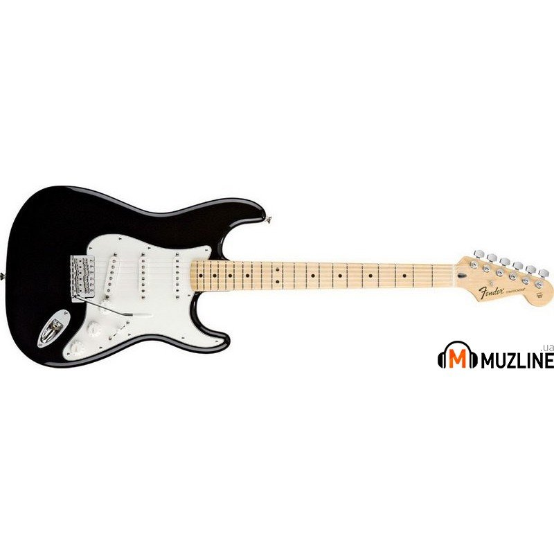 Электрогитара Fender Standard Stratocaster Maple Fingerboard Black
