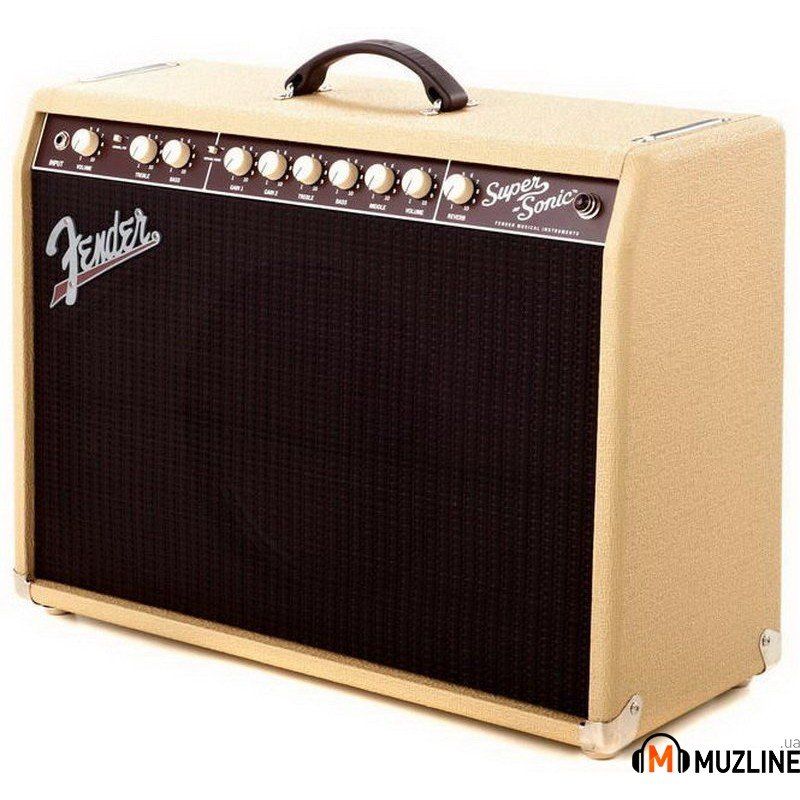 Комбоусилитель для электрогитары Fender Super Sonic 22 Blonde