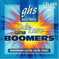 Струны для электрогитары GHS Strings Sub-Zero Boomers Set CR-GBL