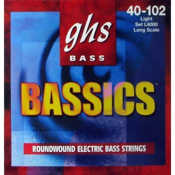Струны для бас-гитары GHS Strings Bassics Bass Set