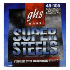 Струны для бас-гитары GHS Strings ML5000 Bass Sup ST Long Medium Light