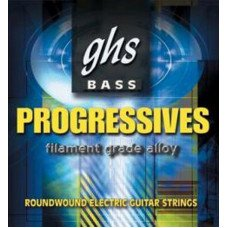 Струны для бас-гитары GHS Strings Progressives Bass Set