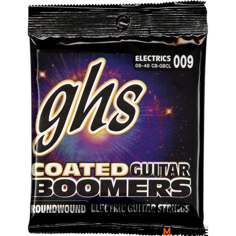 Струны для электрогитары GHS Strings Coated Boomers CB-GBCL 9-46