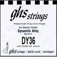 Струны для электрогитары GHS Strings DY36